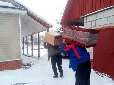 Дачные переезды и перевозка мебели в Санкт-Петербурге