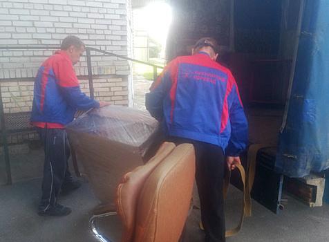 Перевозка мебели с грузчиками недорого СПб и область