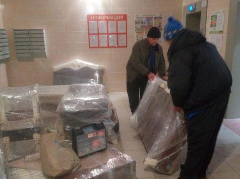 Перевозка мебели с грузчиками недорого в СПб