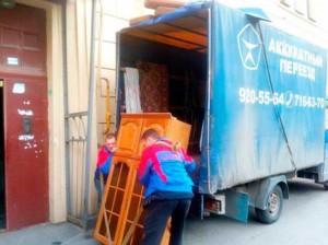 Офисный переезд с грузчиками в СПб