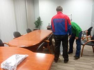 разборка офисной мебели
