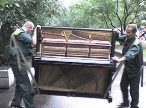 Перевозка пианино, рояля