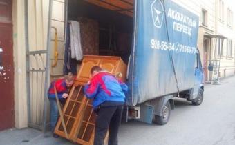 Квартирный переезд в Санкт-Петербурге с грузчиками