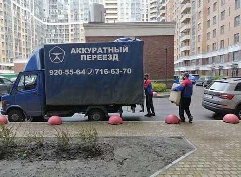 Чистые мебельные фургоны, вежливые грузчики